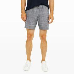 "Club Monaco 7"" Baxter Linen Shorts"