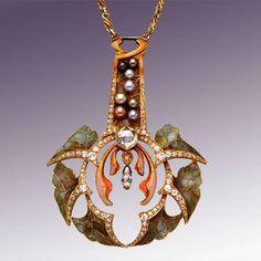 Прекрасная эпоха модерна - Ювелирное искусство модерна. Louis Comfort Tiffany, Philippe Wolfers & Vever