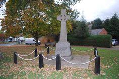 Nether Heyford war memorial