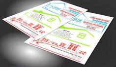 House Cleaning Flyers To Promote Your Business  Rgi