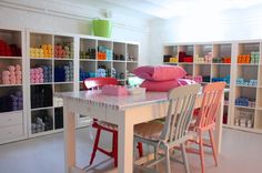 Is this cool or what?!  - eclectic basement by Holly Marder