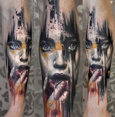 THE ABSTRACT REALISM TATTOOS OF CHARLES HUURMAN