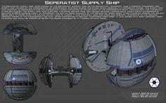 CIS Supply Ship ortho [New] by unusualsuspex.deviantart.com on @DeviantArt