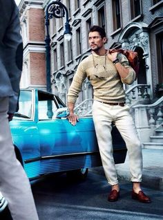 David Gandy casual men's style