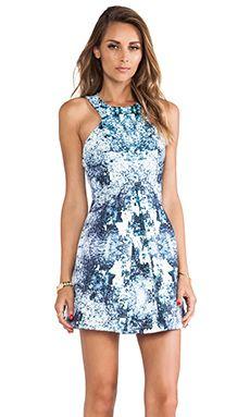 c8a3739fc9c Finders Keepers Unbelievers Dress in Splash Print Light