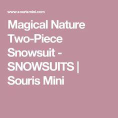 Magical Nature Two-Piece Snowsuit - SNOWSUITS | Souris Mini