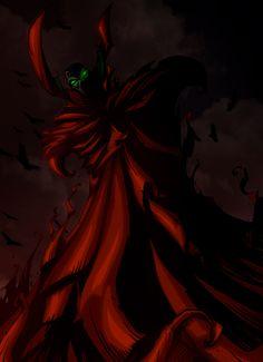 Shadow of Spawn by cruzarte