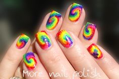 More Nail Polish Rainbow