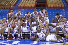 2014-15 KU team!  CAN'T WAIT!!