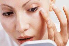 under eye dry skin