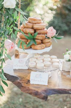 Southern Garden Chic Wedding Inspiration, garden wedding, cake swing, rustic wedding dessert table, rustic wedding