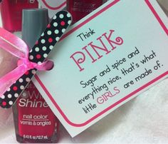 Love useful shower gifts - so girly too!