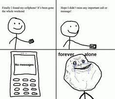 Funny Internet Meme Faces | Forever Alone - Weekend Comic
