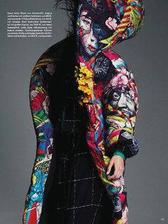 'DOUBLE GAMES' BY GREG KADEL FOR VOGUE GERMANY AUGUST 2014