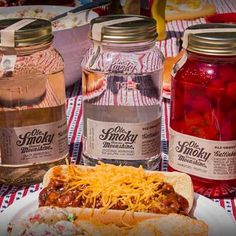 Bring some Ole Smoky to your #summer #BBQ #moonshine #friends #barbecue #backyard