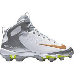 huge discount 4e540 f5835 Nike Kids  Alpha Huarache Keystone Mid Baseball Cleats, Size  10K, White  Turf