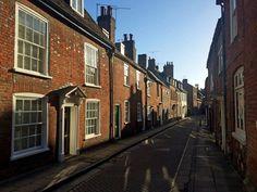 Canon Street, Winchester, Hampshire. Photograph by Simon Fox