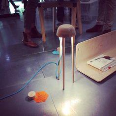 sweet floor lamp from Paris Design Week 2013