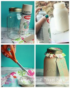 "Swenson Love: DIY Grown-up ""Piggy Bank"""