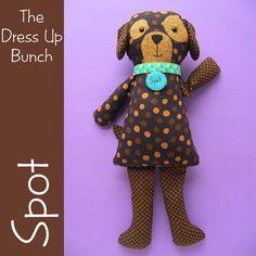Spot - Dress Up Bunch Puppy Softie Pattern – Shiny Happy World