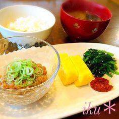 今日はほっこり和食ごは〜ん♡ - 91件のもぐもぐ - 朝ごはん♡ by ichinana