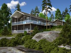 Pickala Eagle, Lapponia House, render by Hot Snow Design, hotsnow.fi