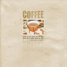 Kávé Black Coffee, Scrapbook Pages, Pure Products, Books, Movie Posters, Art, Art Background, Libros, Film Poster