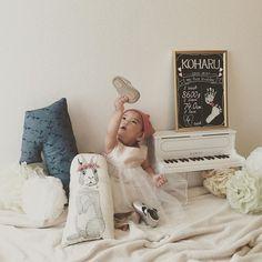 ♡♡♡ *. #Koharu1stBirthday#1歳#おめでとう  #ファーストバースデー#1歳誕生日#1歳記念日#firstbirthday #1stbirthday#10月生まれ#10月21日 - maiyon