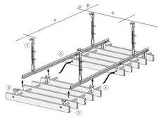 perfore derzli delikli ahsap akustik panel kaplama asma tavan sistemi borulu cubuk sistem 3