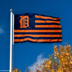 Detroit Tigers Outdoor Flag  | Come to Lux Lounge in West Bloomfield, MI to relax with friends at a premiere hookah lounge in an upscale atmosphere!  Call (248) 661-1300 or visit www.luxloungewb.com for more information!