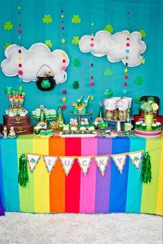 St. Patrick's Day Party #stpatricksday