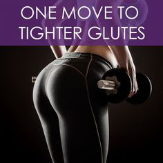 One Move to Tighter Glutes - can you guess what it is?  #tightglutes #buttworkouts