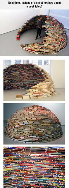 That is so pretty.but mine would fall apart because I would take so many books out of it, it would collapse.