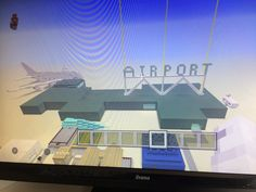 My minecraft airport by joby