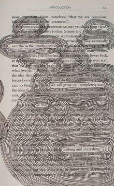Redigierte Buchseite Gedichte - #art #Buchseite #Gedichte #Redigierte...