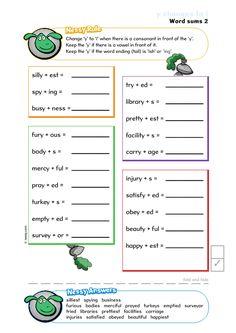 Worksheets - Nessy Reading Spelling