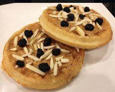 7d2c6d4869 Peanut Butter and Almonds on Waffles. Van s Foods