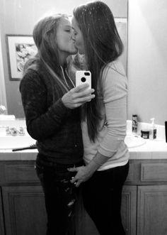 Friends selfies best Lesbian nude