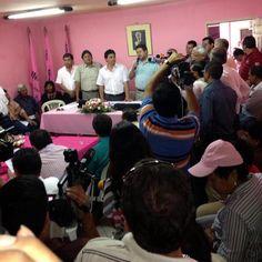 En la reunión nacional del MNR que trató el fortalecimiento de ese partido y la participación en el proyecto de unidad.