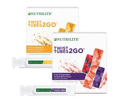 Stay Hydrated with Twist Tubes 2GO