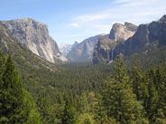 Yosemite Valley - Tunnel View: when you exit the tunnel and see this, it's like you arrived on another planet...so breathtaking!
