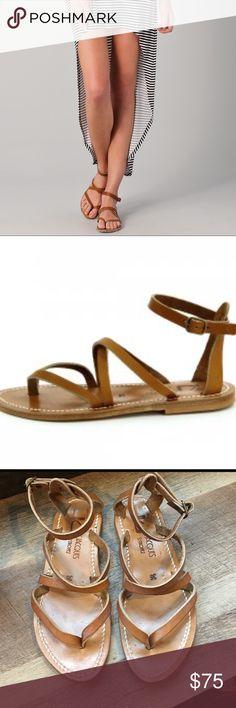 K. Jacques Epicure Sandals Beautiful god used condition K.Jacques St. Tropez leather sandals size 35 K. Jacques Shoes Sandals
