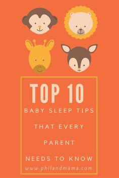 Phil and Mama present best top 10 baby sleep tips that every parent needs to know. Share some of your tips with us too!