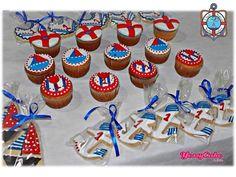 Cupcake marinero