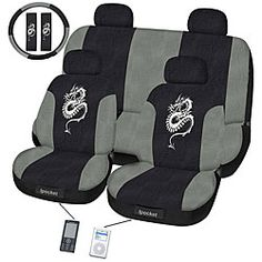Dragon 11-piece Seat Cover Set