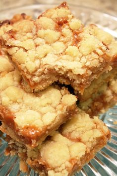 Salted Caramel Butter Bars - Cake 'n' Knife These are fabulous!!!
