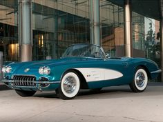 GM Chief Donates his Classic Corvette to Charity