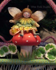 fairy-on mushroom incredible work by Salley Mavor