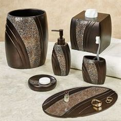 Gg Collection Bath Vanity Accessories