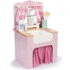 Vaaleanpunainen Honeyhome Tiskipöytä